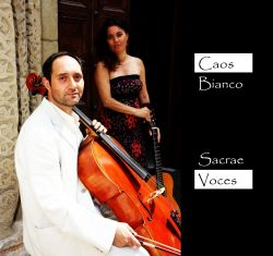 CAOS BIANCO - SACRAE VOCES, Luca Mario Colombo e Silvia Drago, cd audio